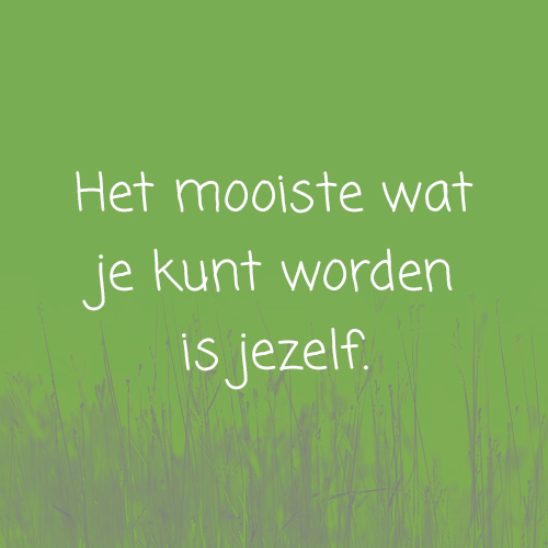 Quote jezelf
